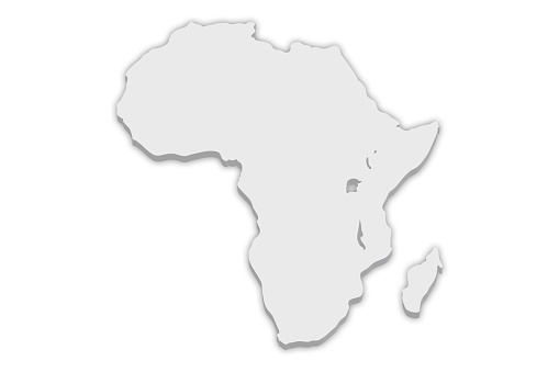 istock Continent Map: Africa 521704910