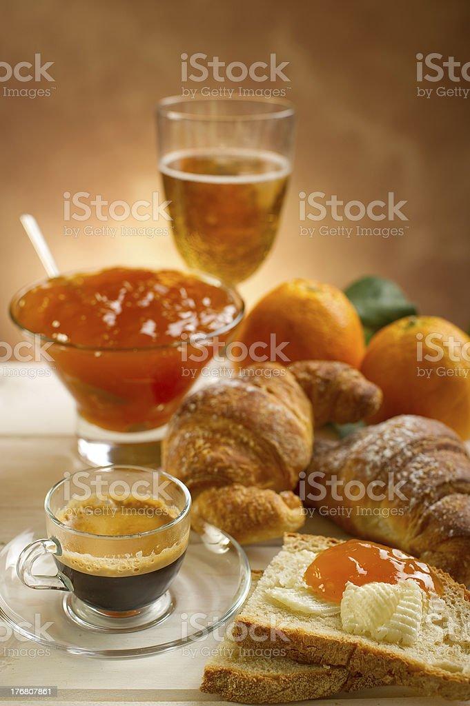 continental breakfast royalty-free stock photo