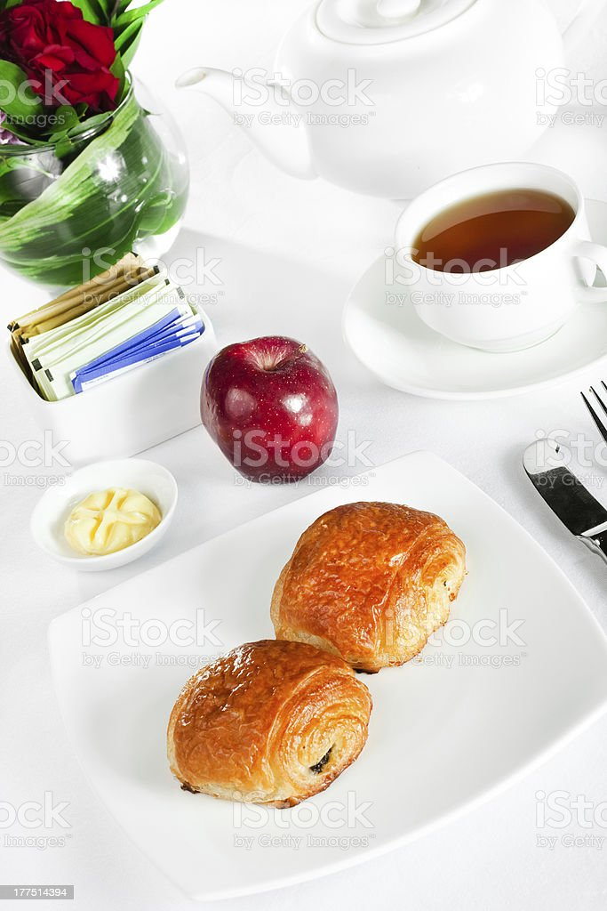 continental breakfast royalty-free stock photo