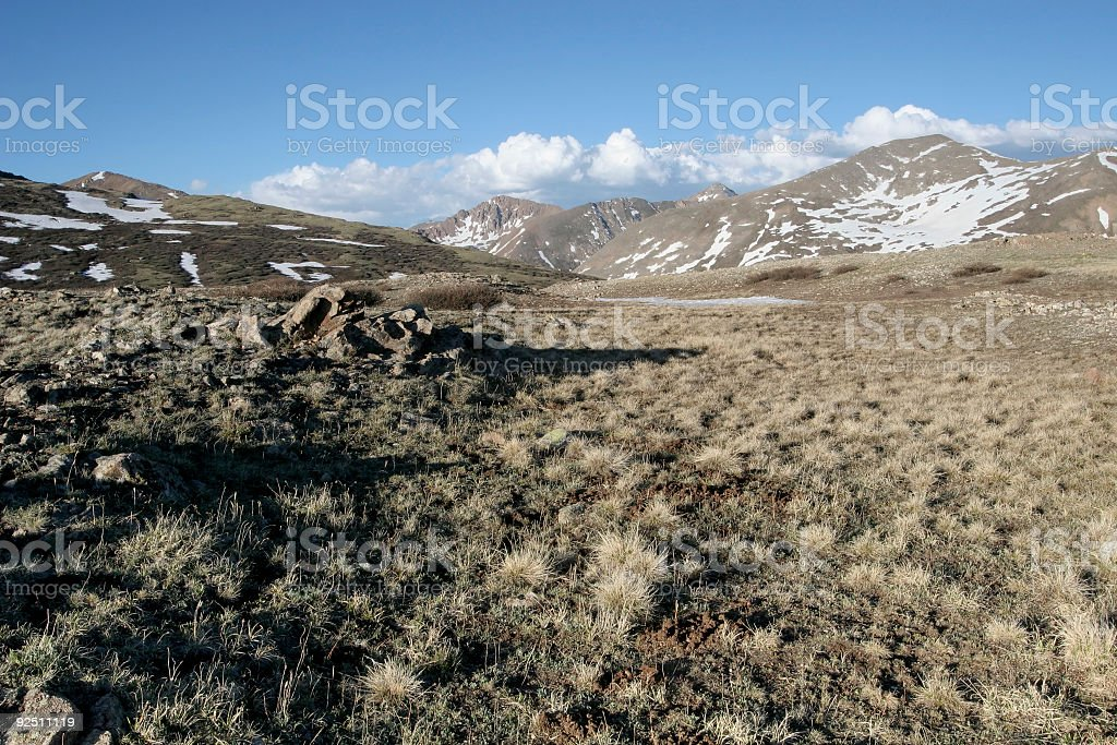 Continental Divide royalty-free stock photo