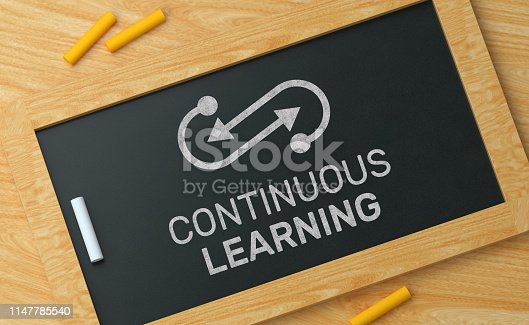 Continuous Learning on Blackboard