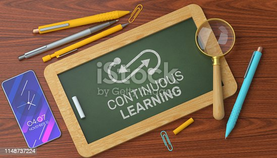 istock Continuous Learning on Blackboard 1148737224