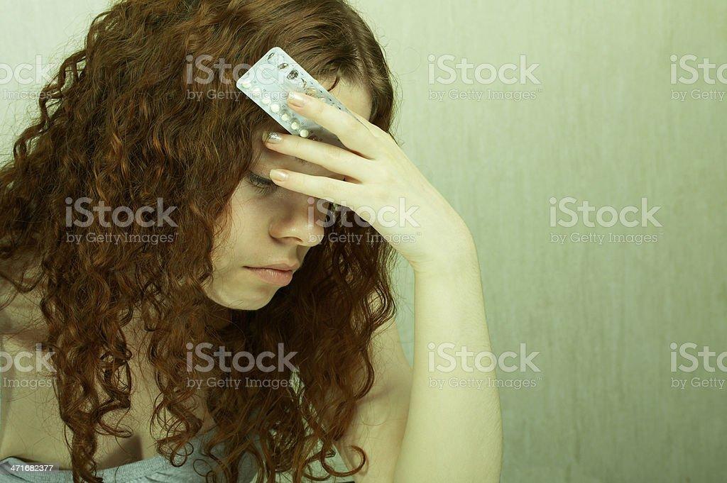Verhütungsmittel Mädchen – Foto