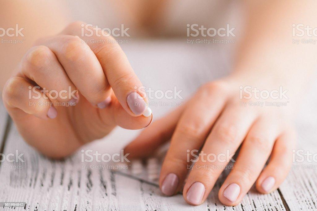 Contraceptive Pill - foto de stock