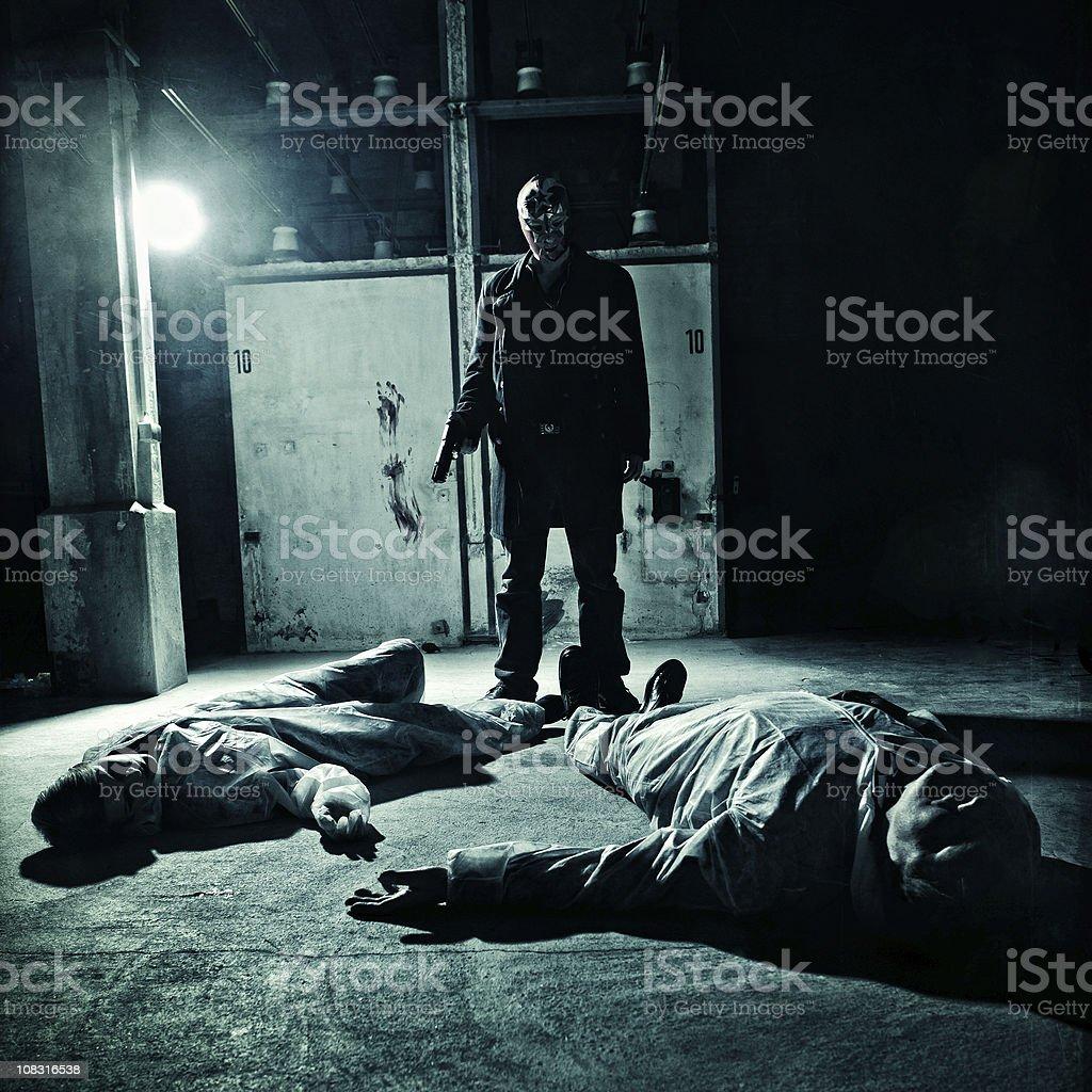 Contrato killer em ação - foto de acervo