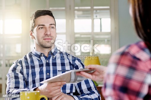 155279487 istock photo Contract 489118428
