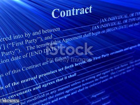 494762574istockphoto contract 494762574