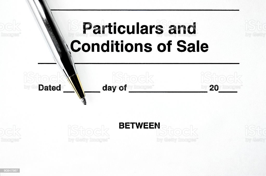 Contract Ready to Sign royalty-free stock photo