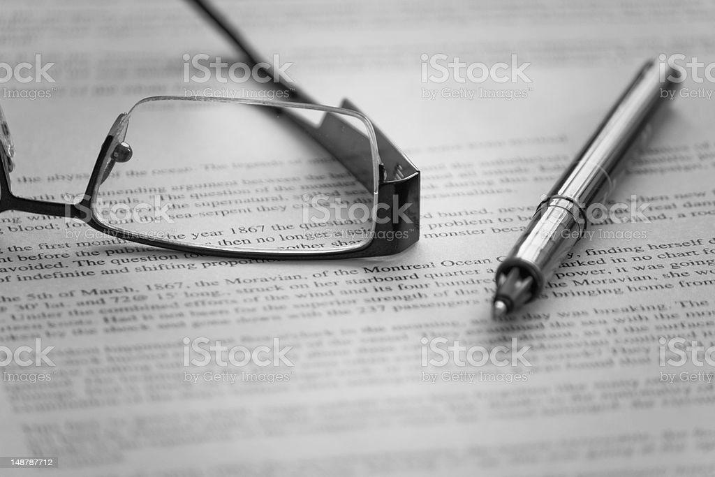 Contract signing royalty-free stock photo