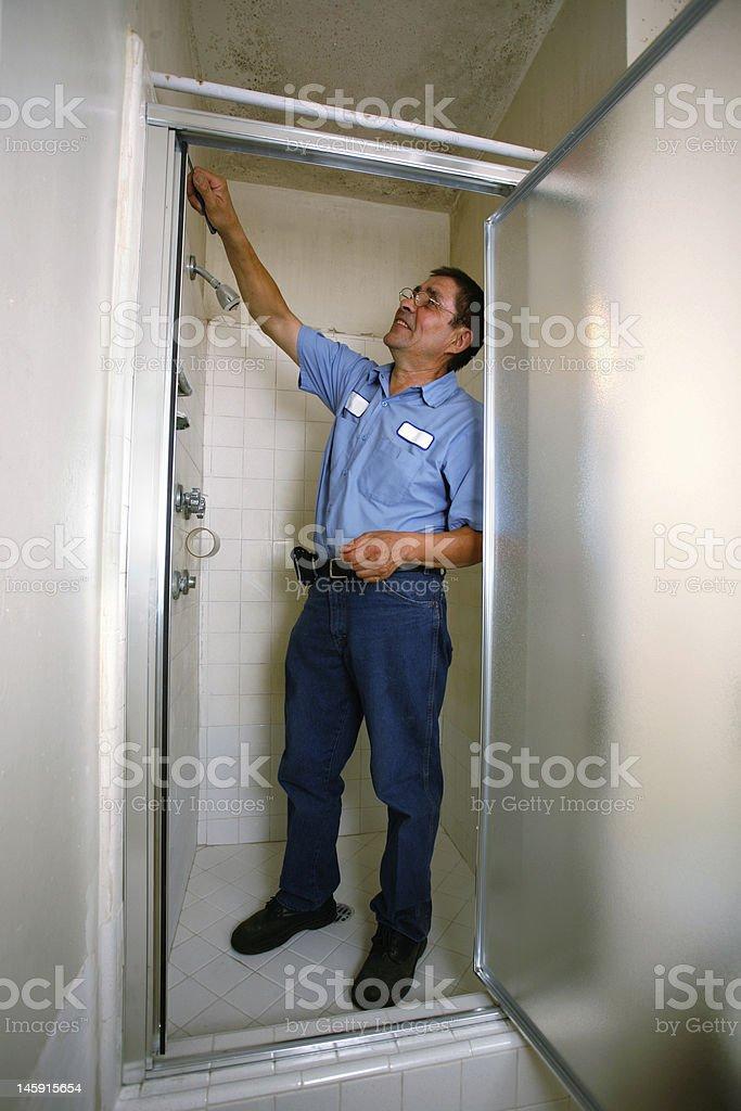 Auftragnehmer-Fixierung Dusche – Foto