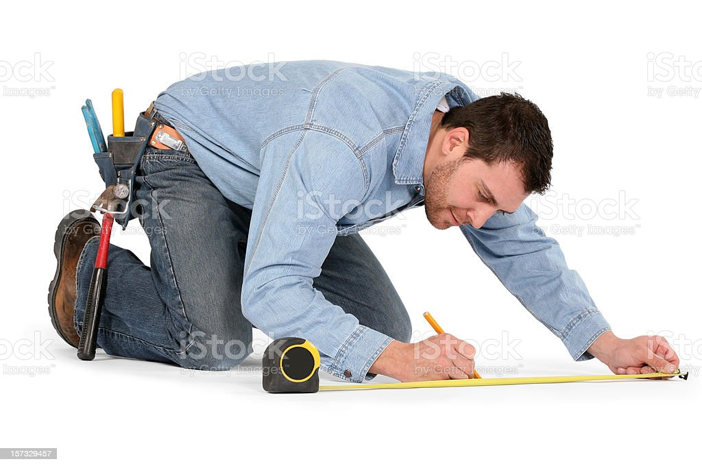 Contractor Series stock photo