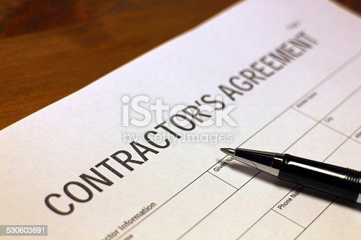 532257236istockphoto Contractor's Agreement 530603691