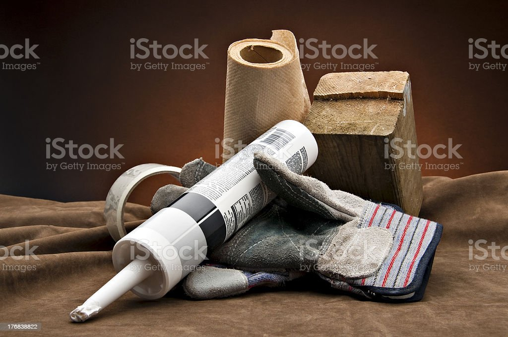 Contractor's choice stock photo
