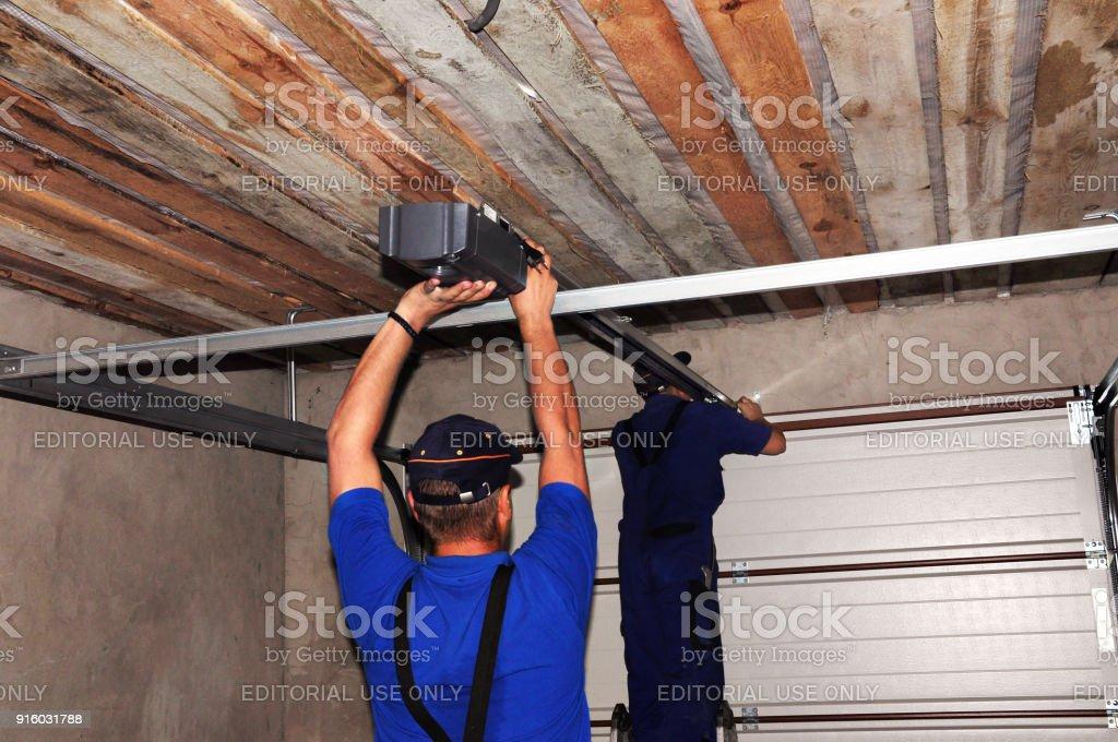 Contractors Installing Garage Door Opener Repair Garage Door Opener