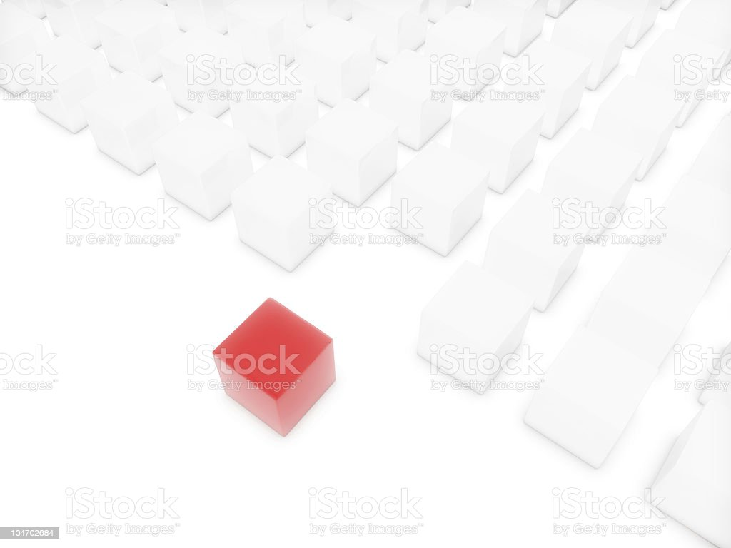 Contrast royalty-free stock photo