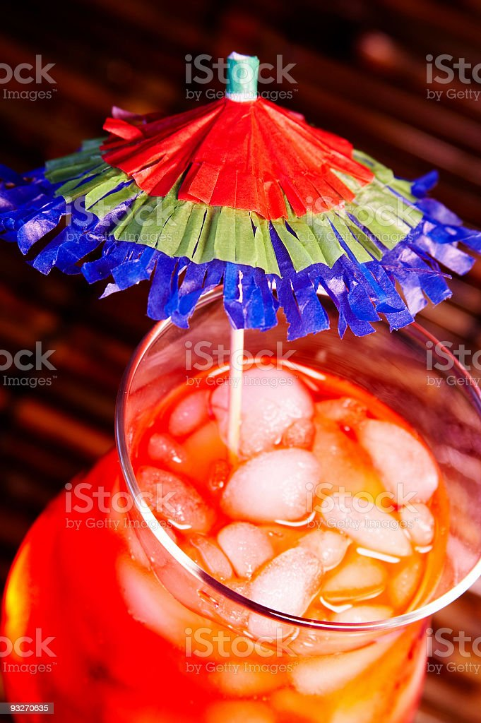 Contrasty Drink #1 stock photo