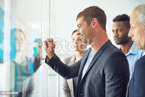 istock Contributing to the future success of their company 514649696
