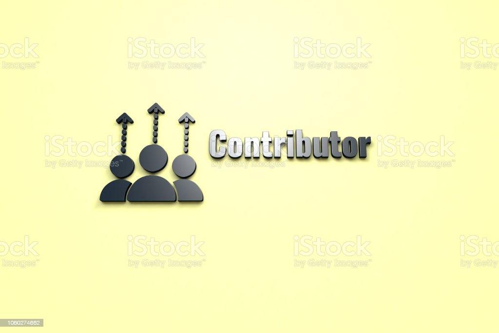 Contributor stock photo