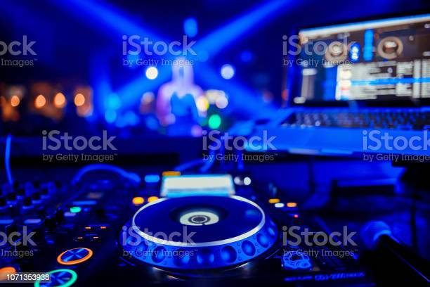 Control dj for mixing music with blurred people dancing at party in picture id1071353938?b=1&k=6&m=1071353938&s=612x612&h=2wtxhfg1urq hvhgpeh1kziqotqnxfs7v8jctgriwje=