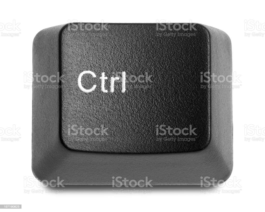 Control key royalty-free stock photo
