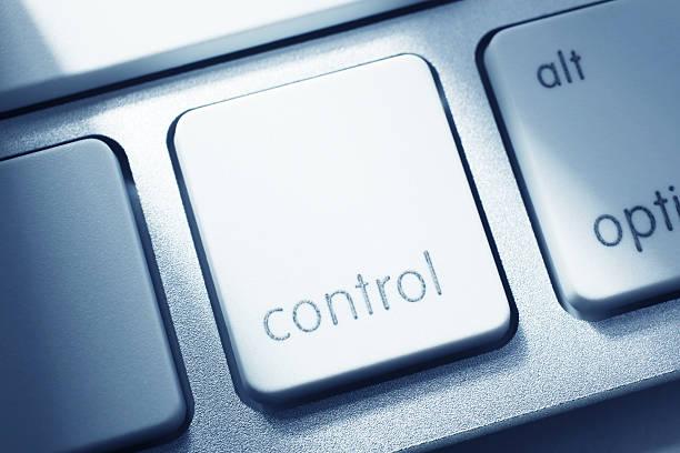 Clave de Control - foto de stock