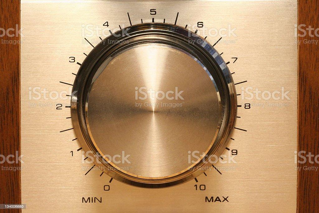 control knob royalty-free stock photo