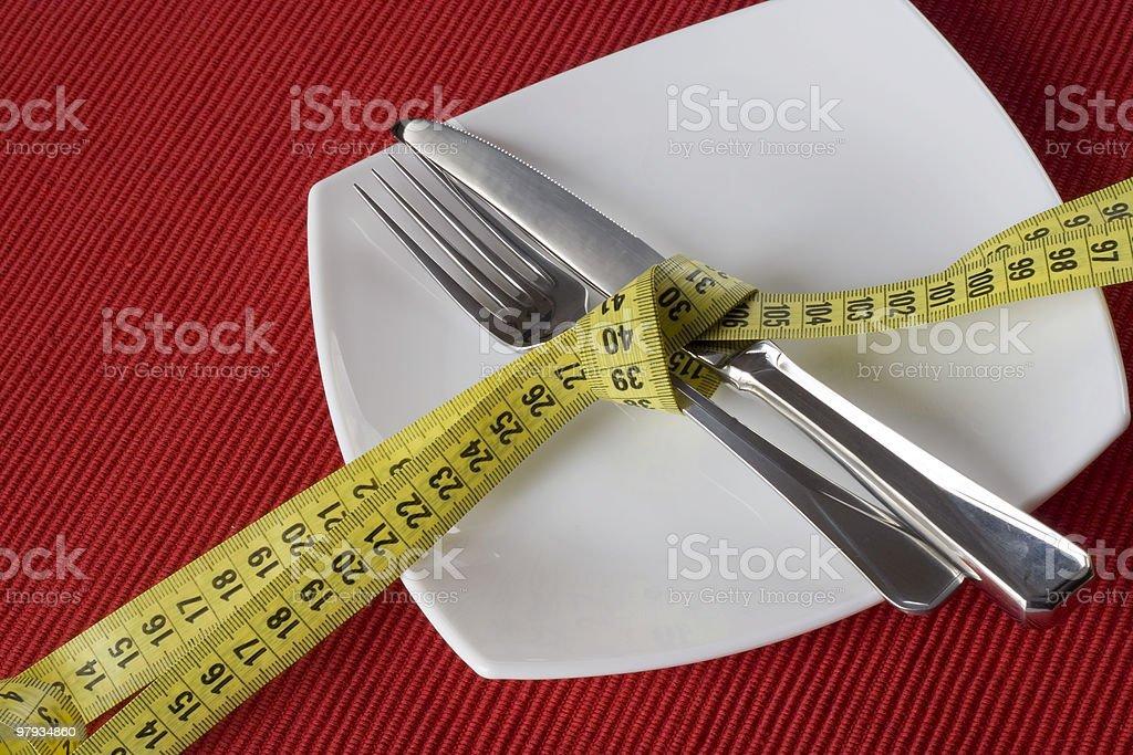 Control obesity royalty-free stock photo