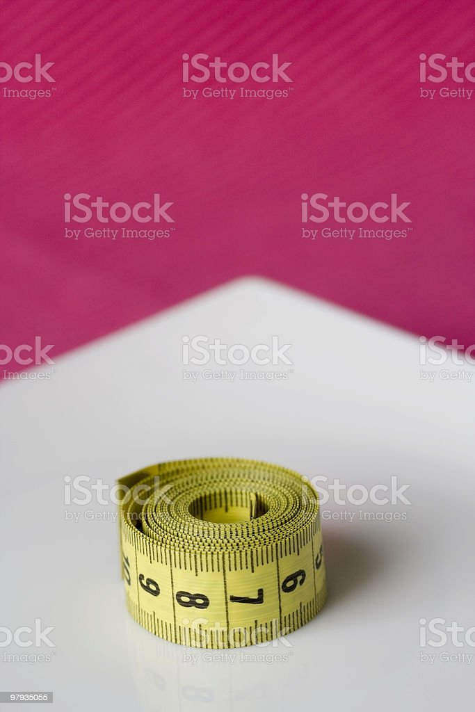 Control obesity royalty-free stock photo