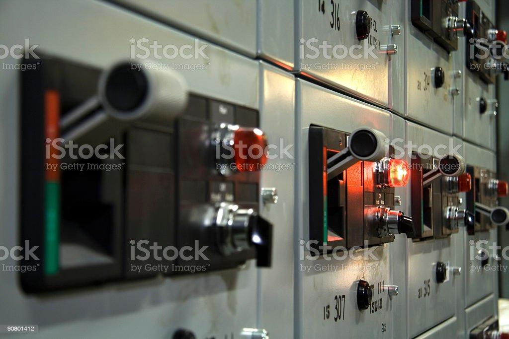 Control panel 1 stock photo