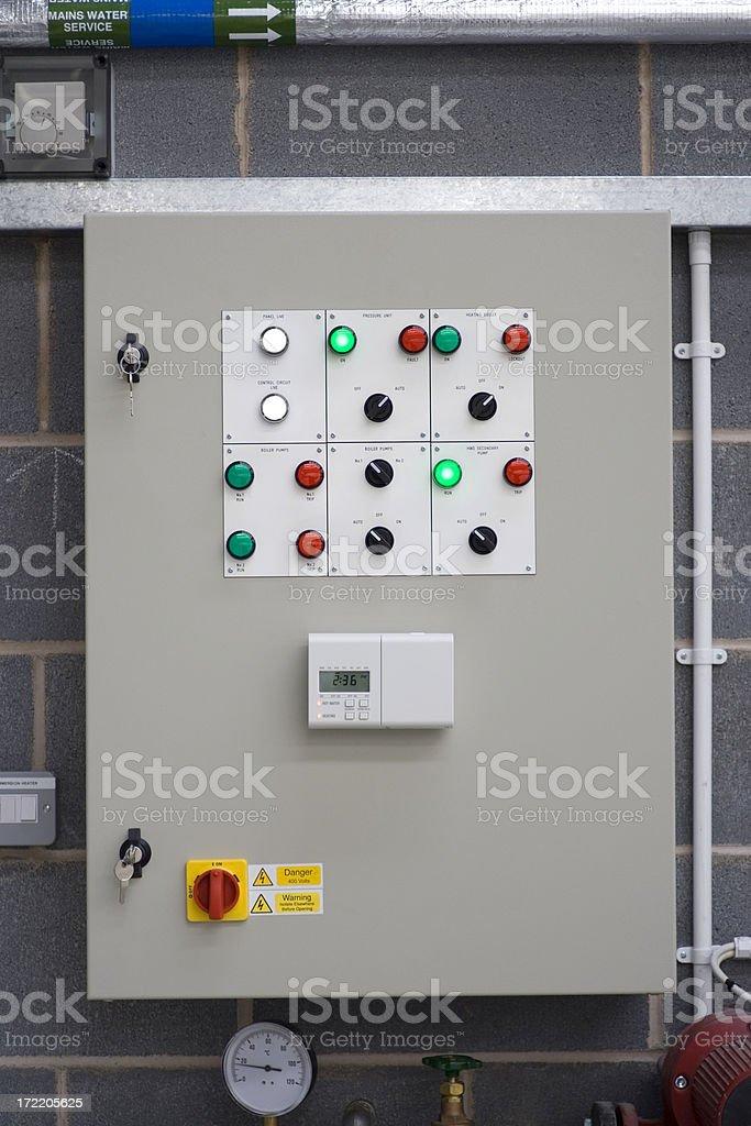 Control Panel royalty-free stock photo