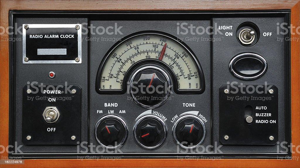 Control Panel stock photo