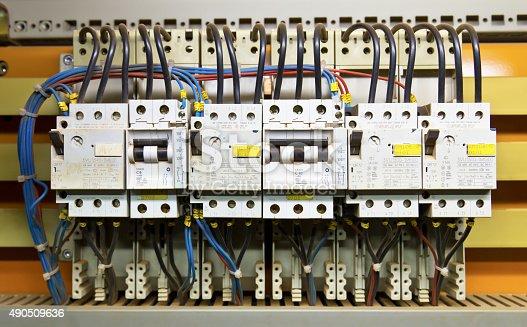 istock Control panel 490509636