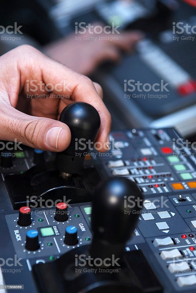 control panel series stock photo