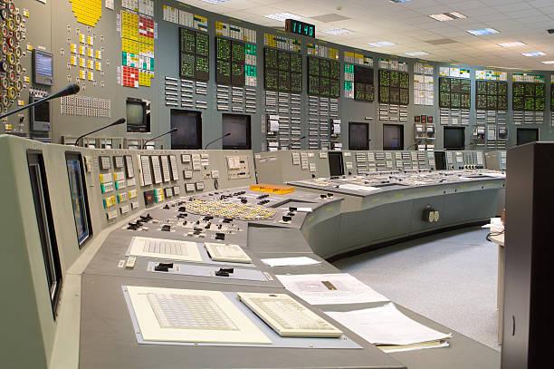Control room stock photo