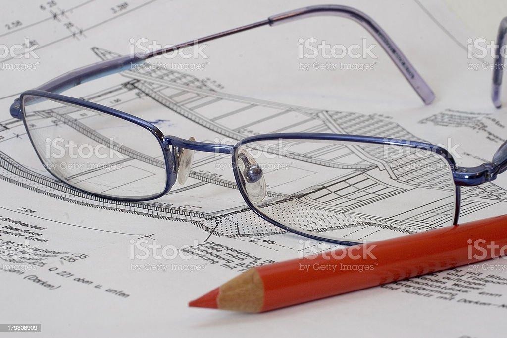 Control the plan stock photo