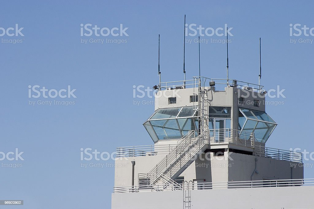 Control Tower 2 royalty-free stock photo
