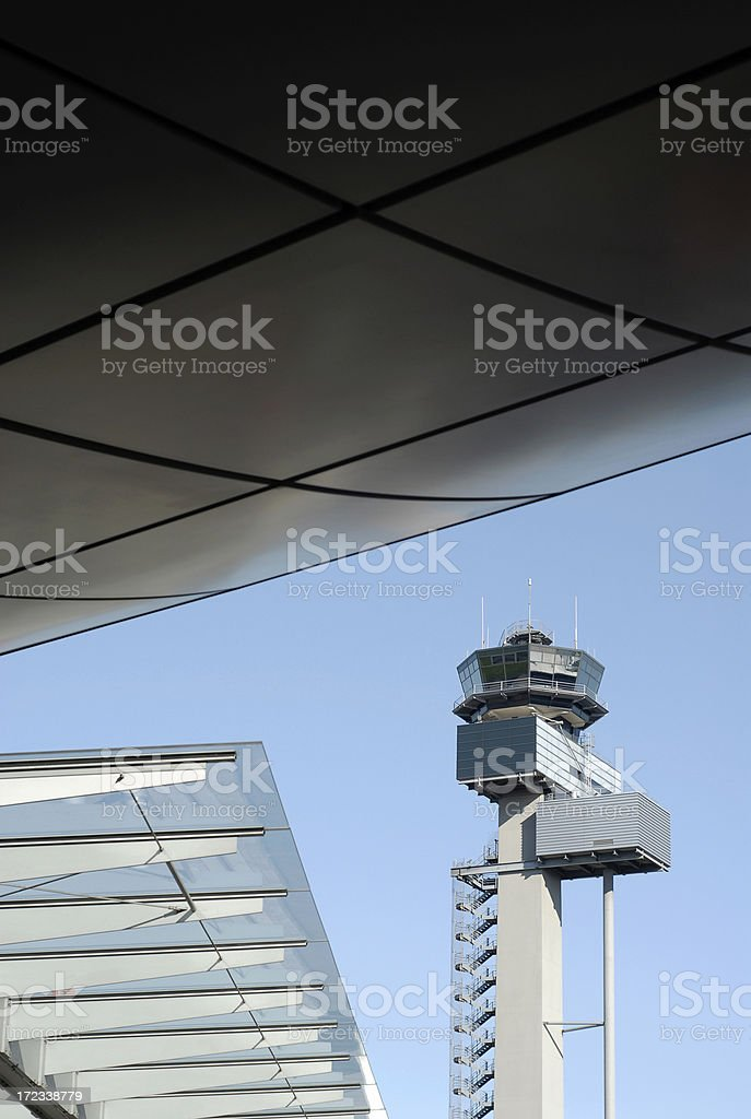 Control Tower royalty-free stock photo