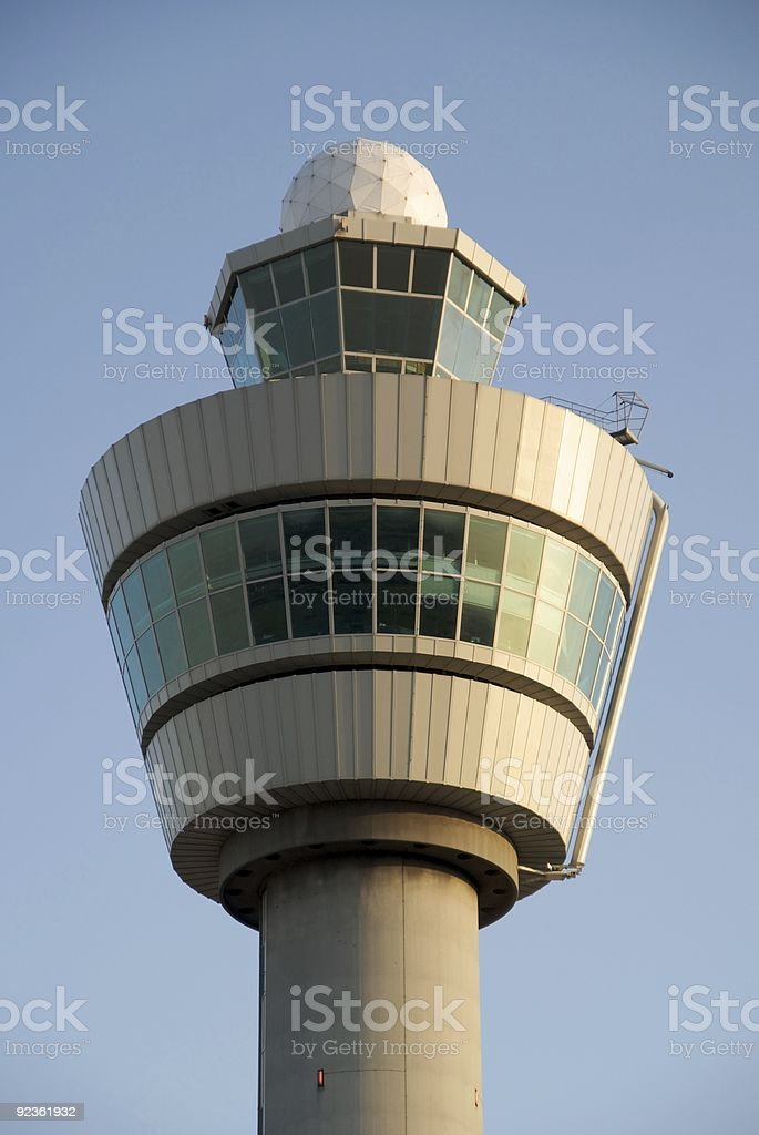 Control tower. royalty-free stock photo