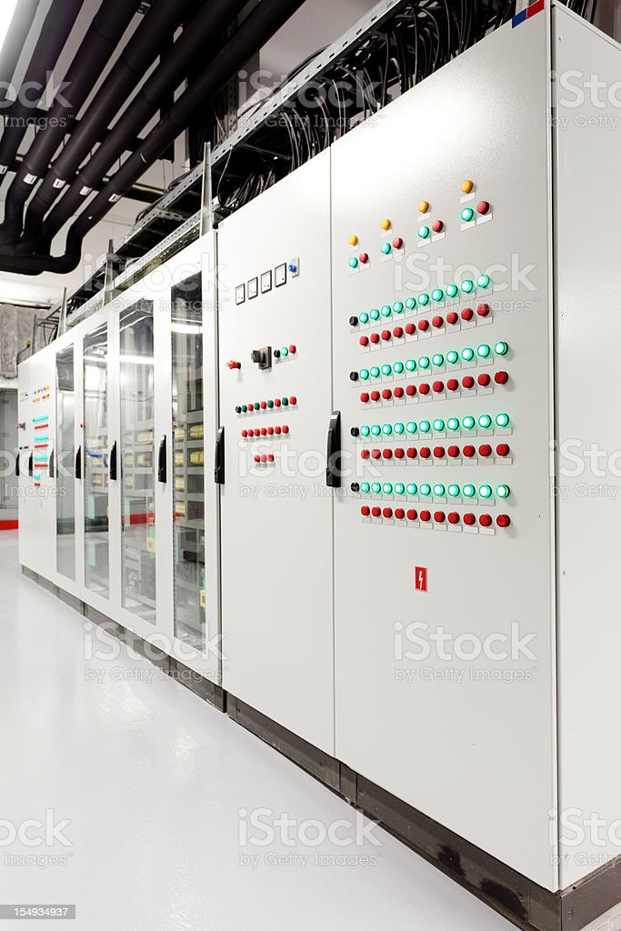 Control unit royalty-free stock photo
