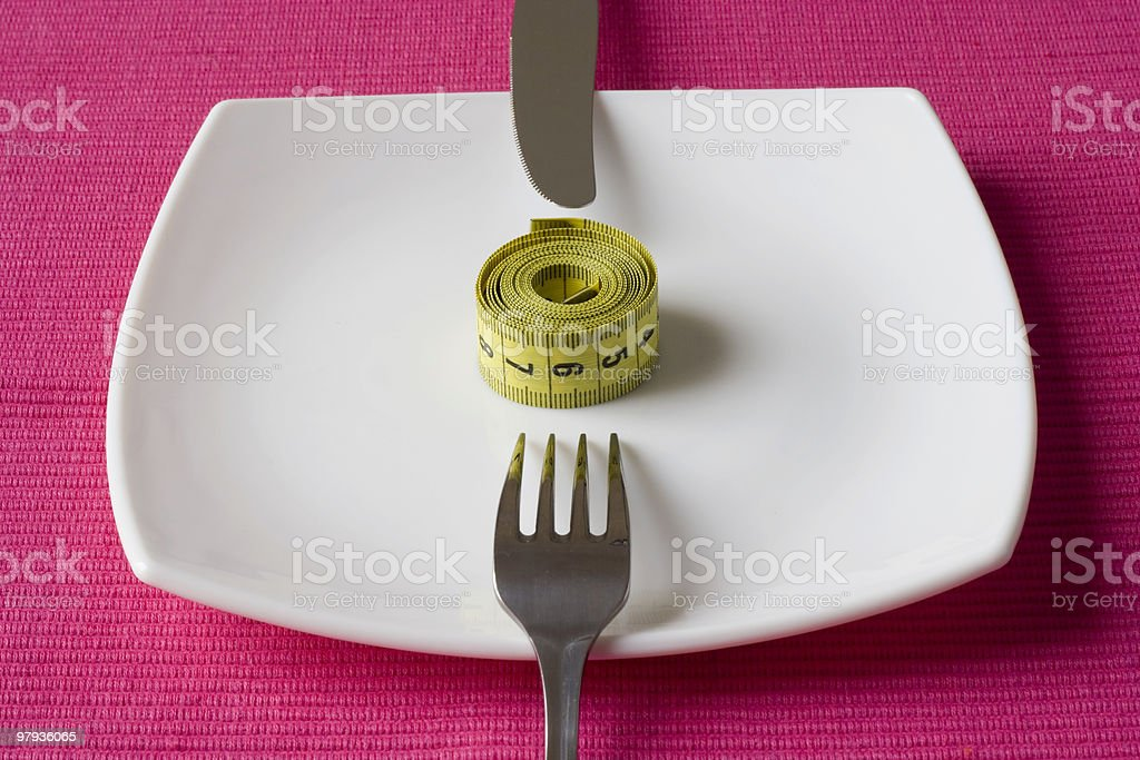 Control what you eat royalty-free stock photo