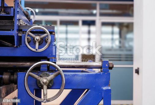 Control wheels of metal cutting machine