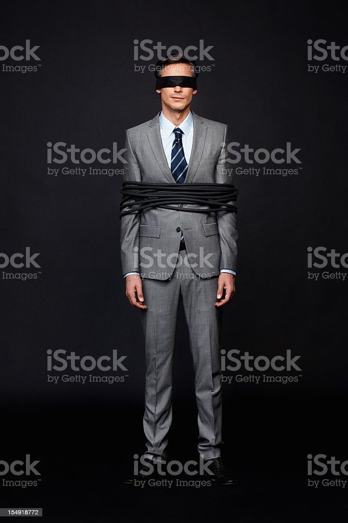 Controlled by corporate royalty-free stock photo