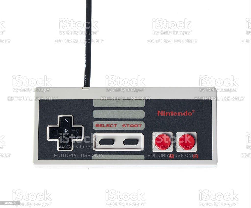 NES Controller stock photo