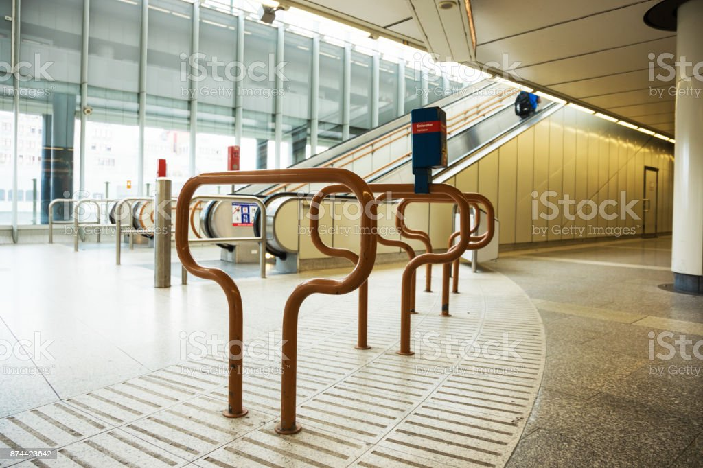 Convalidator in subay station stock photo