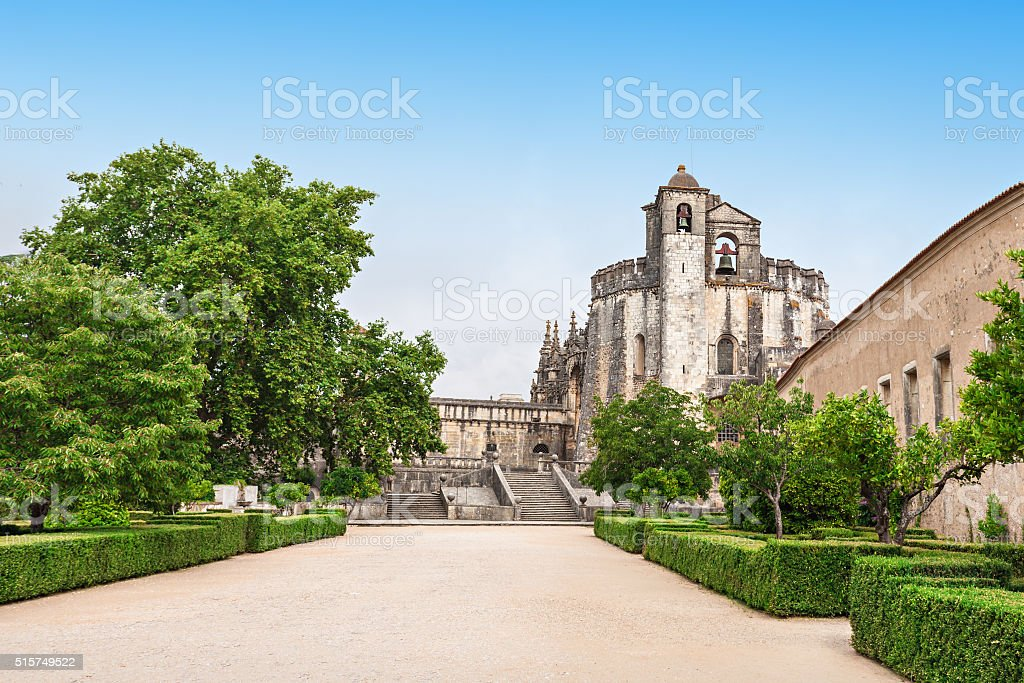Convent of  Christ stock photo