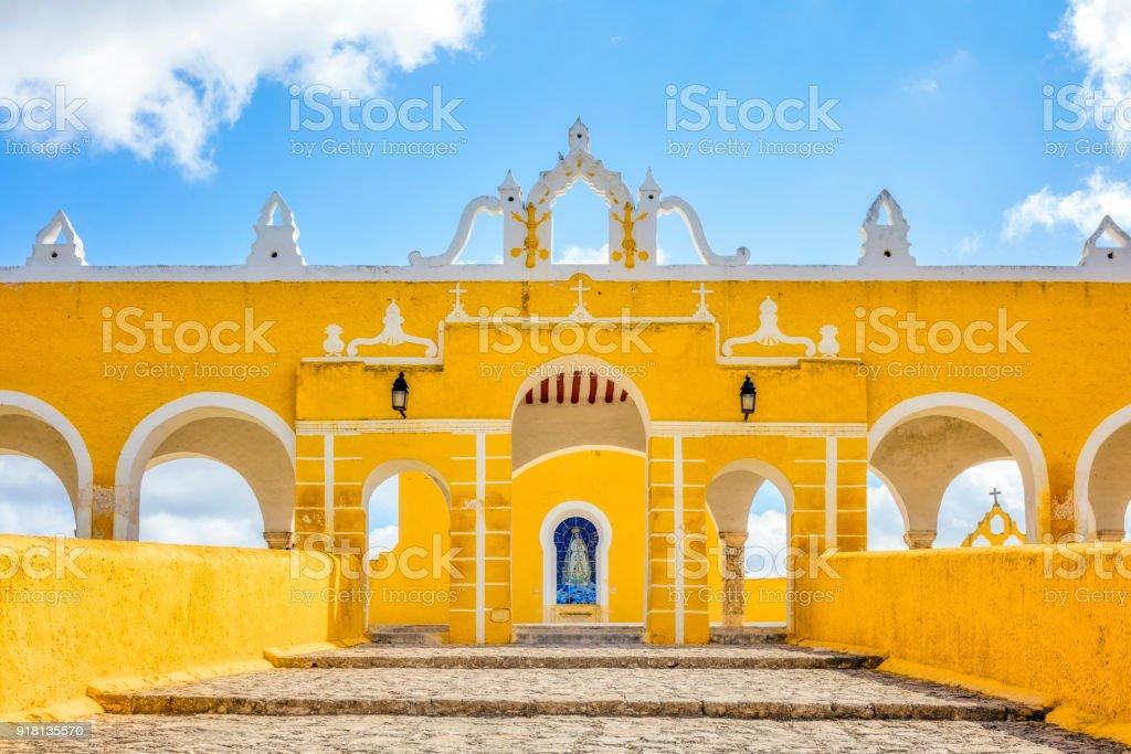 Kloster von San Antonio de Padua Franziskaner-Kloster in Izamal - Mexiko / Yucatan – Foto
