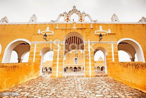Convent of San Antonio de Padua, Izamal, Yucatan, Mexico