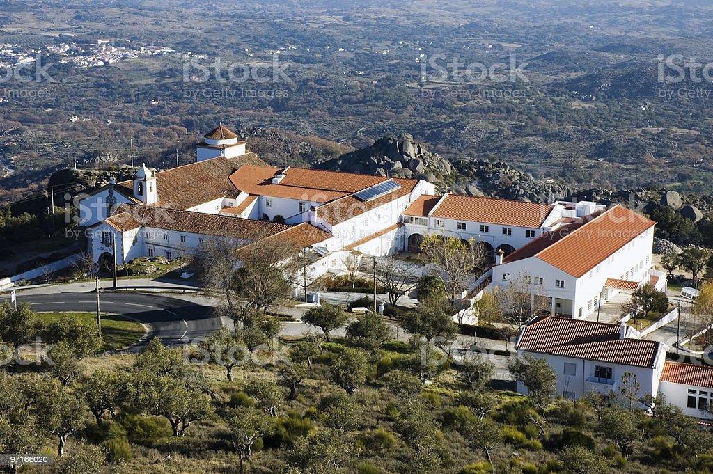 Convent of Senhora da Estrela royalty-free stock photo