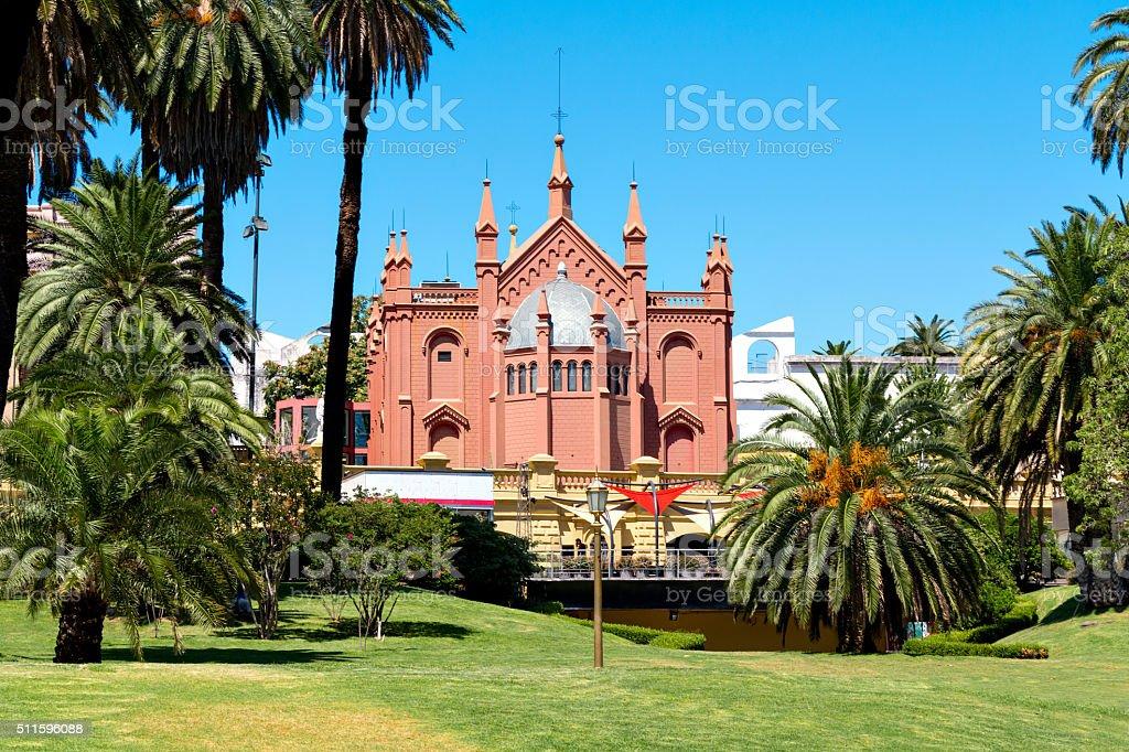 Convent Recoleta, Buenos Aires Argentine stock photo