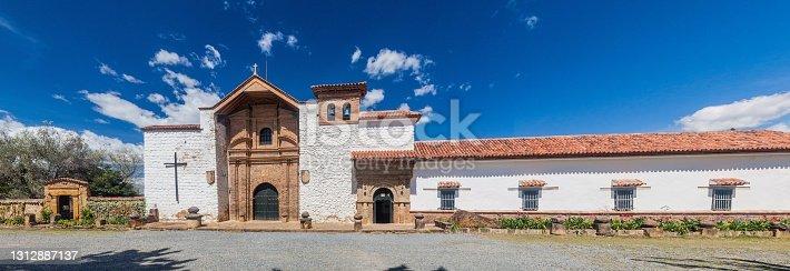 Convent Santo Ecce Homo near Villa de Leyva, Colombia